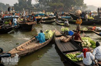 Barisal Floating Market