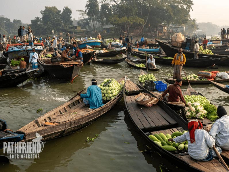 Barisal Floating Market