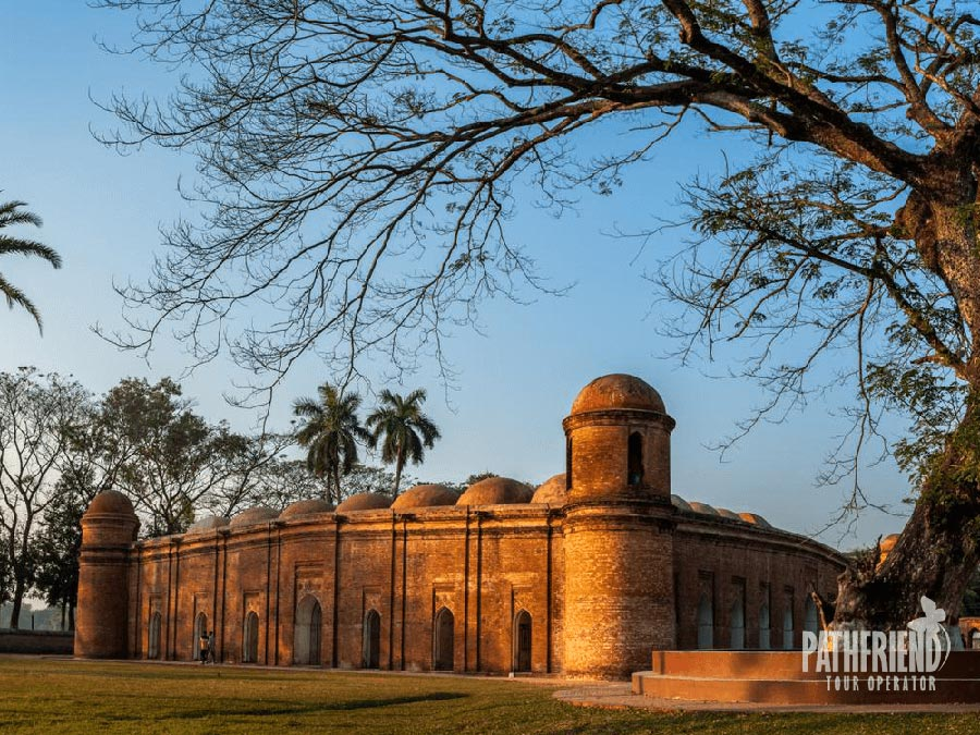 Sixty domes mosque