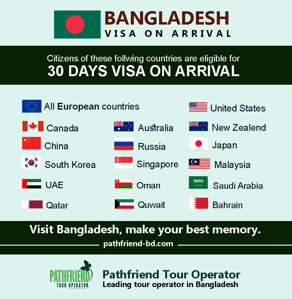 Bangladesh Visa On Arrival Customs Policy Best Local Tour Operator In Bangladesh